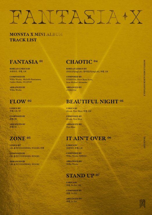 MONSTAX約7ヶ月ぶり「FANTASIA」でカムバック!!!!!