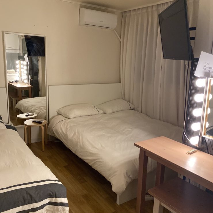 韓国で泊まるならアパートメント!!in弘大 ( ホンデ )
