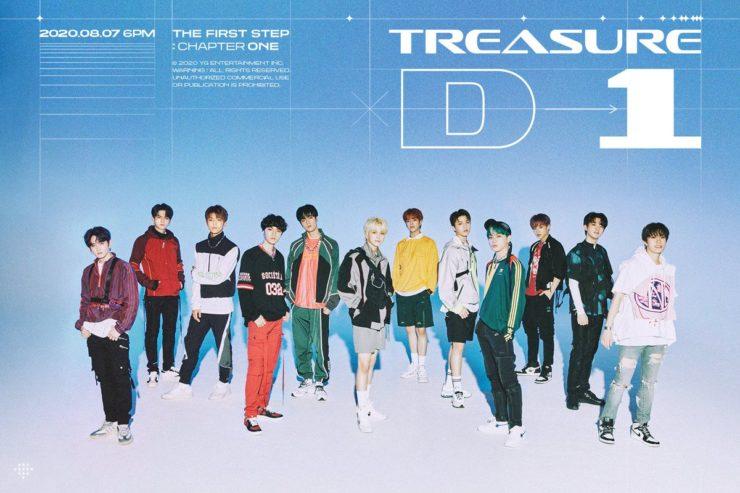 YGから新ボーイズグループ「TREASURE」デビュー!