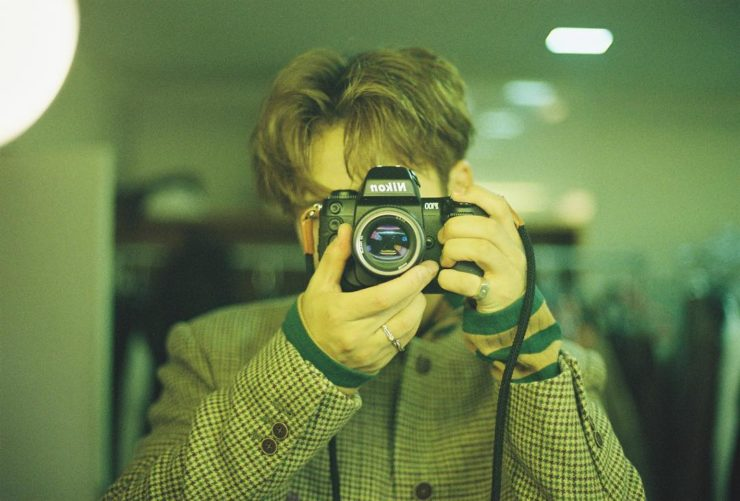 SEVENTEENミンギュ愛用のカメラ
