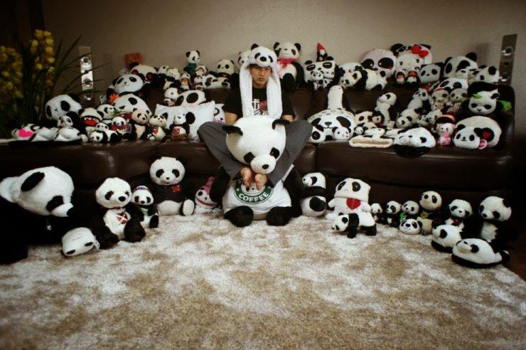 2PMのJun. Kが愛してやまないパンダ