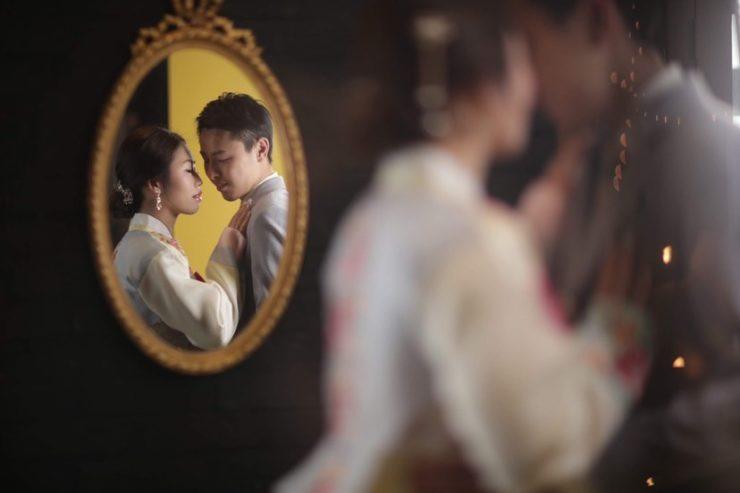 Korean Style pre-wedding photoshoot
