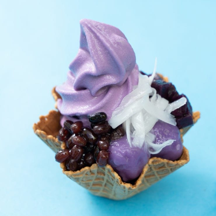 LA MERIENDA HALO HALO Purple ice