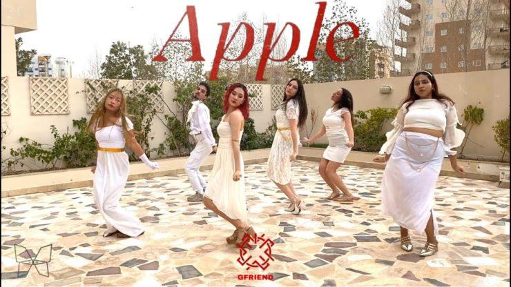 ドバイのK-POPカバーダンスチームTHE PIXIESによるGFRIEND - APPLE