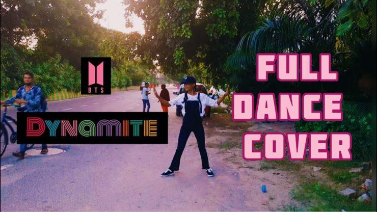 インドの路上でBTS-Dynamiteを踊る少女DARKSUNちゃん