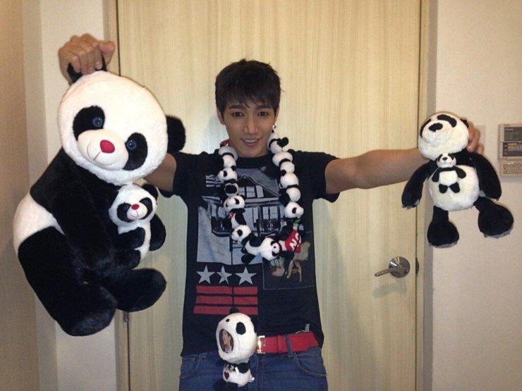 2PMの愛されパンダJun. Kが愛してやまないパンダ