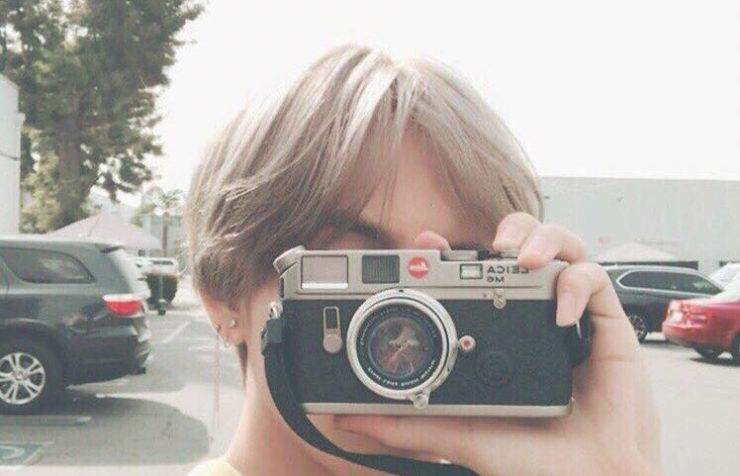BTS V's own camera
