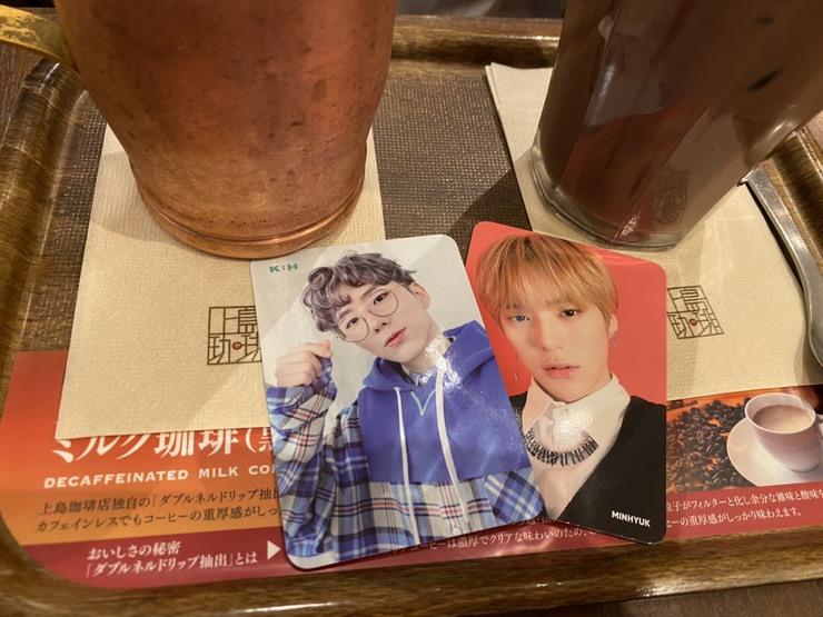 QUOカードを使ってカフェでオタ活!