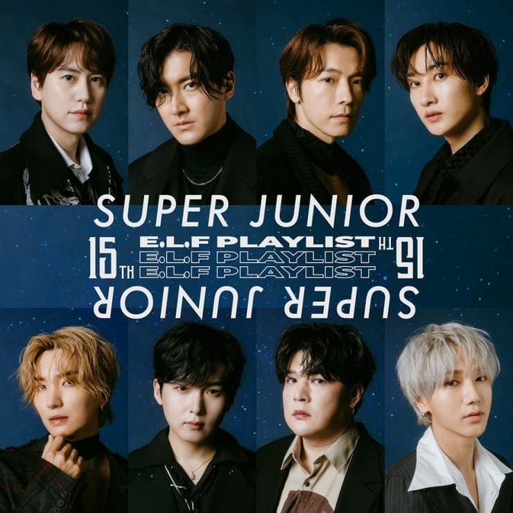 SUPER JUNIOR 15th 15 songs