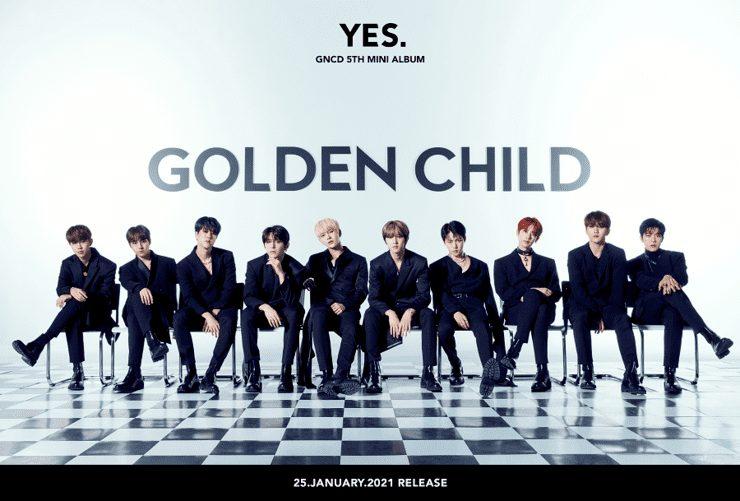 Golden Childが1月25日にカムバック