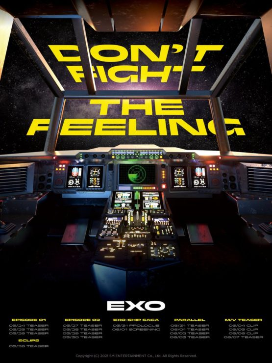 EXO DON'T FIGHT THE FEELING