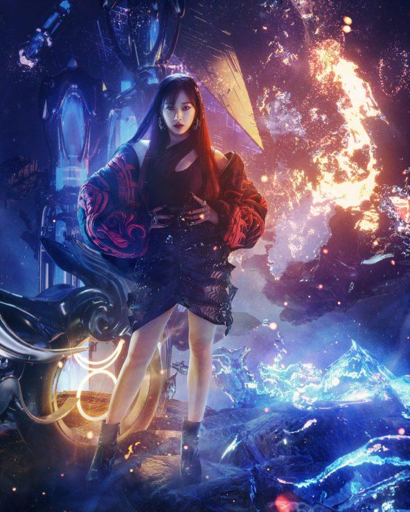 Bryan Huynhによるメンバーヴィジュアルのaespa(エスパ)新曲「Next Level」