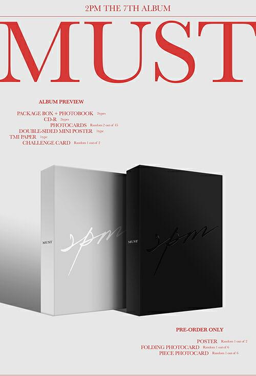 野獣系アイドル2PMニューアルバム「MUST」で6月28日完全体でカムバック
