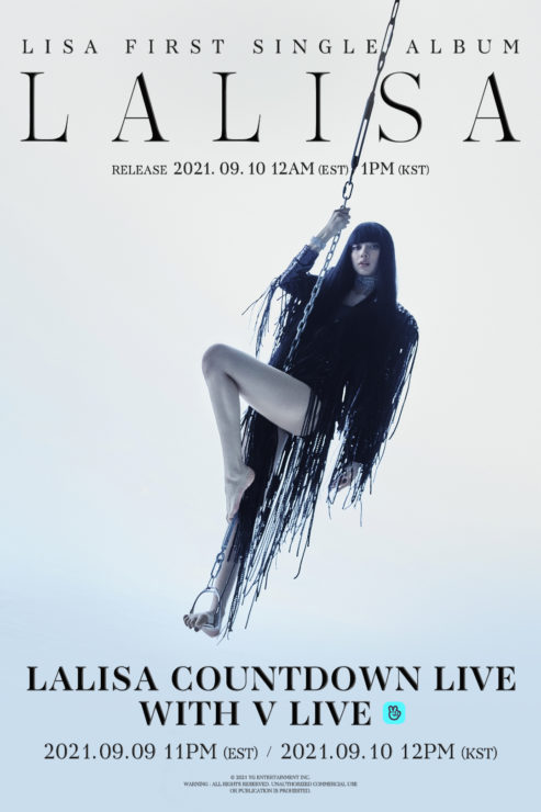 K-POPアーティストの中でインスタフォロワー数1位のBLACKPINKリサ、ファーストシングルアルバム「LALISA (ラリサ)」で9月10日ソロデビュー!