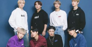 「ATEEZ」と「Now me. by NYLON JAPAN」
